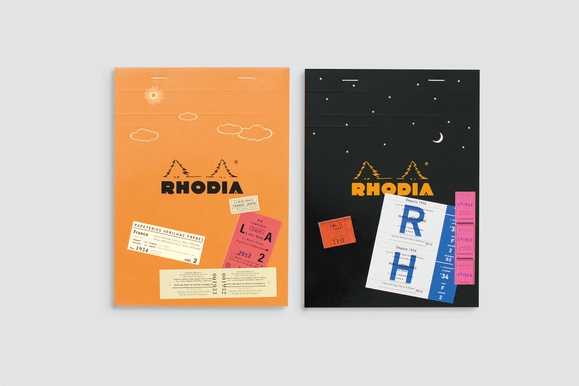 THE bloc memo, RHODIA Day & Night