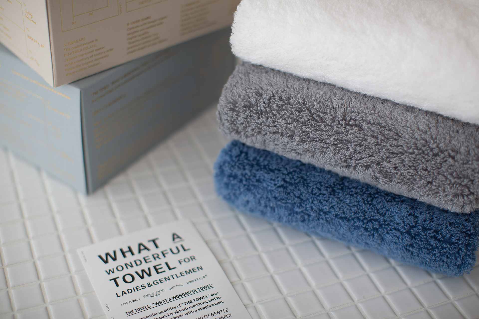 THE TOWEL for LADIES / THE TOWEL for GENTLEMEN